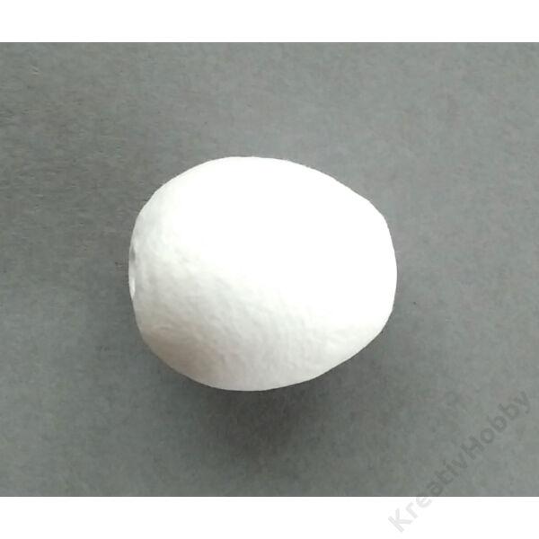Préselt papír tojás 30 mm