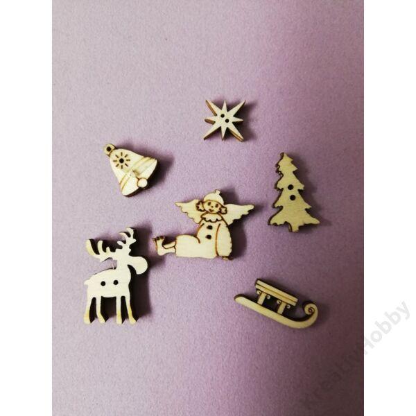 Fagomb vegyes ,karácsonyi 6db/cs