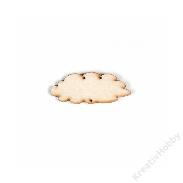 Fa lap ,felhő 7cm