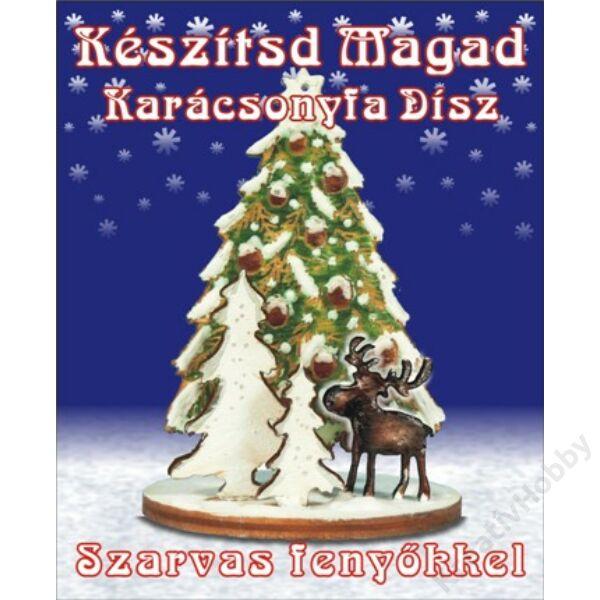 Készítsd magad - Szarvasos karácsonyfadísz