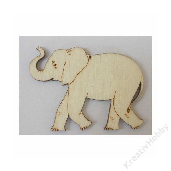 Fadísz,Nagy Elefánt 6x4cm