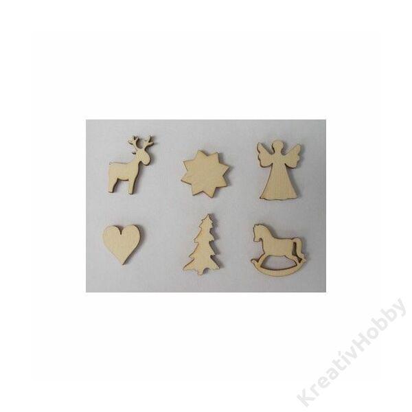 Fadísz,Karácsonyi 6db 2-3cm