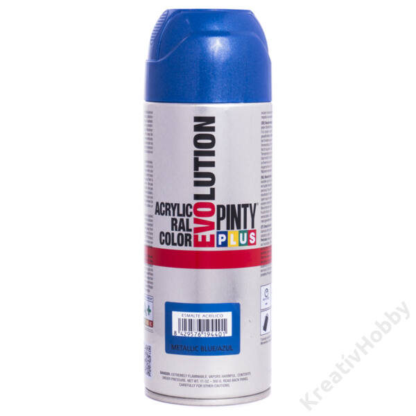 EVO akryl spray 400ml METÁL KÉK