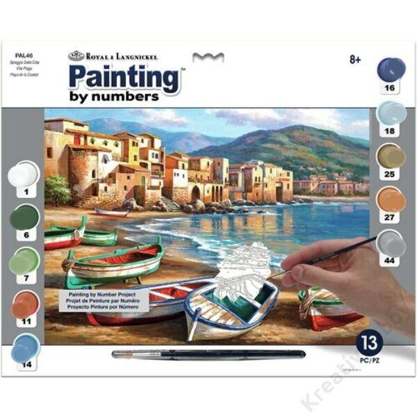 Számozott kifestő - Spiaggia Della Citta