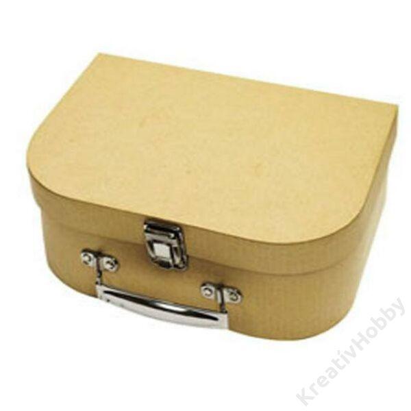 Kibőrönd,csatos 25,5x17,5x8,5cm