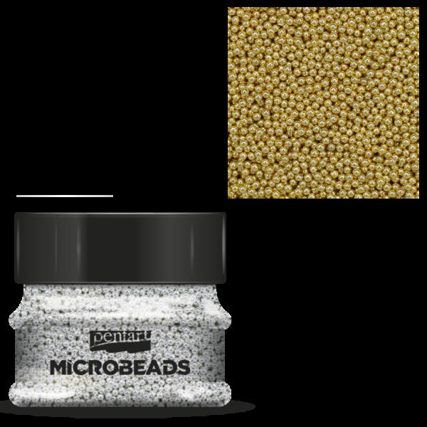 Szórógyöngy 0,8-1 mm 40 g arany