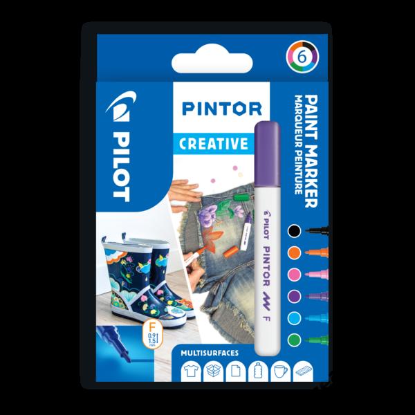 Pintor 6 db-os szett, divatszínek (B, V, LB, P, LG, O)