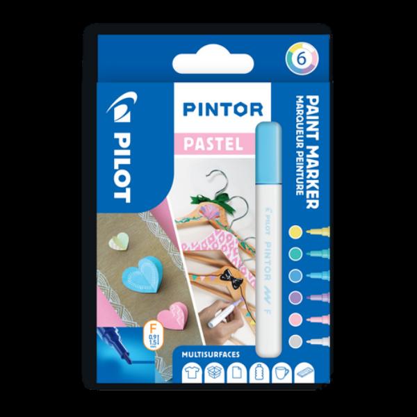 Pintor 6 db-os szett pasztelL színek (PAL, PAY, PAV, PAG, PAP, PAW)