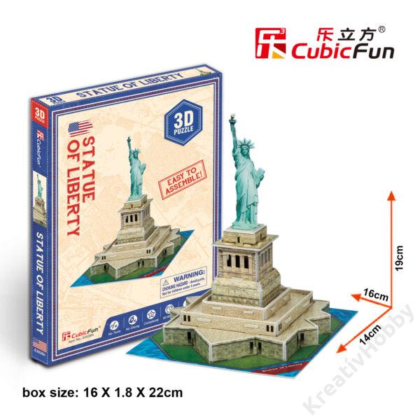 3D mini puzzle / Szabadság szobor0265