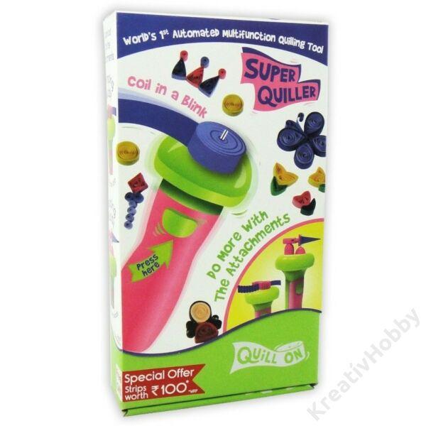 Super Quiller Quilling Papírsodró eszköz pink