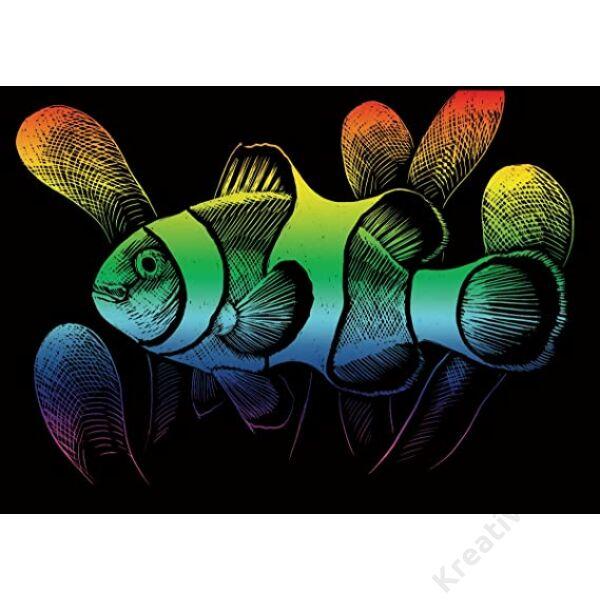 Karckép, mini, szivárványos - Bohóchal