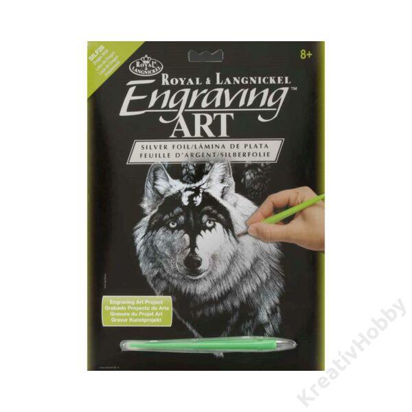 Karcképek,ezüst-Dragon wolf