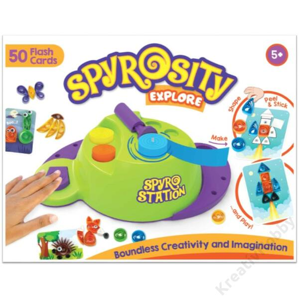 Spyrosity Explore - Super Quiller quilling gép kicsiknek